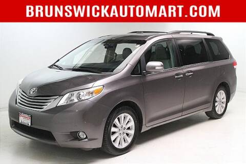 2014 Toyota Sienna for sale at Brunswick Auto Mart in Brunswick OH