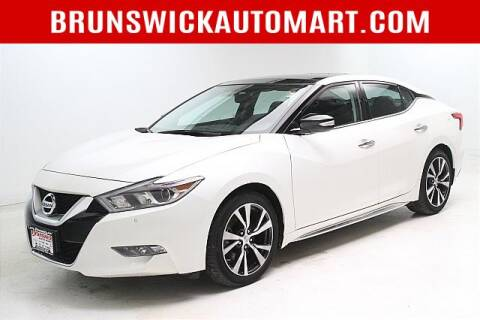 2017 Nissan Maxima for sale at Brunswick Auto Mart in Brunswick OH