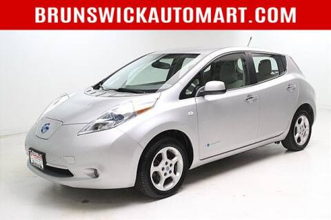 2012 Nissan LEAF for sale at Brunswick Auto Mart in Brunswick OH