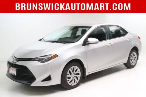 2017 Toyota Corolla for sale at Brunswick Auto Mart in Brunswick OH