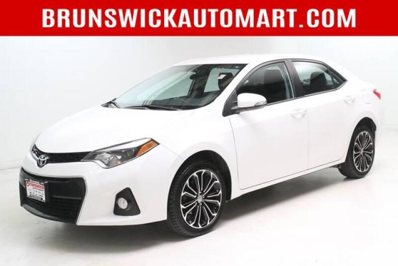 2016 Toyota Corolla for sale at Brunswick Auto Mart in Brunswick OH