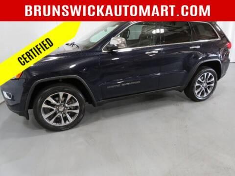 2018 Jeep Grand Cherokee for sale at Brunswick Auto Mart in Brunswick OH