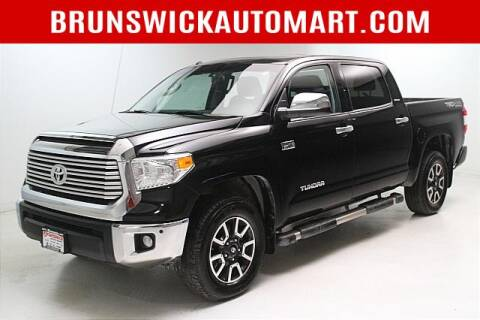 2017 Toyota Tundra for sale at Brunswick Auto Mart in Brunswick OH