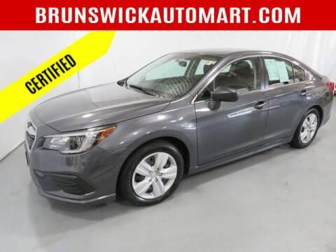 2018 Subaru Legacy for sale at Brunswick Auto Mart in Brunswick OH
