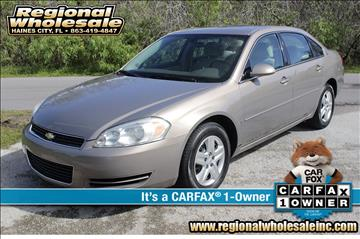 2006 Chevrolet Impala for sale in Haines City, FL