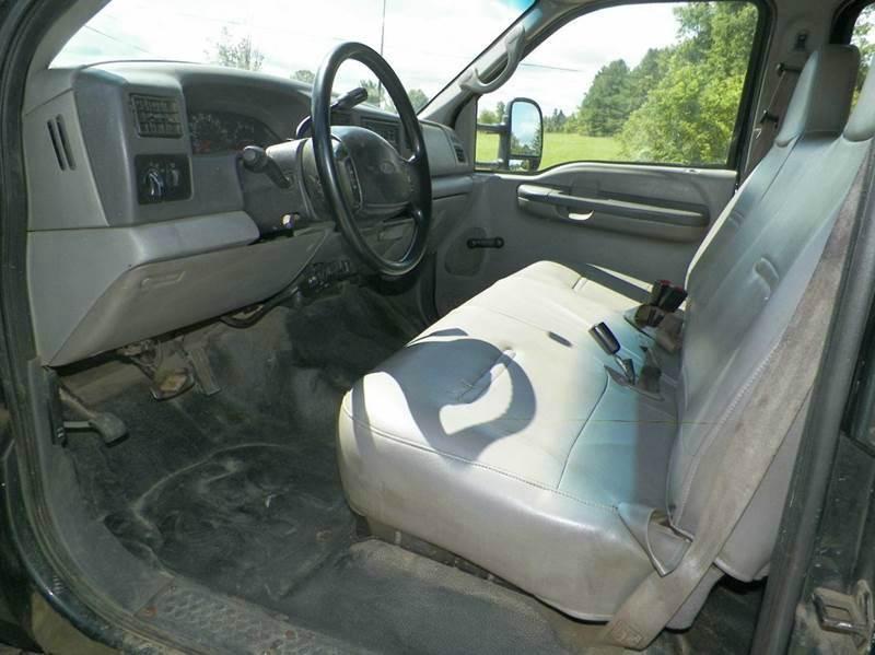 1999 Ford F-450   2wd Crew  Stake truck - Imlay City MI
