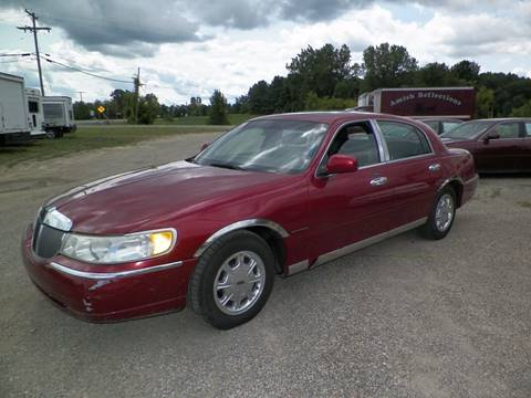 2000 Lincoln Town Car for sale in Imlay City, MI