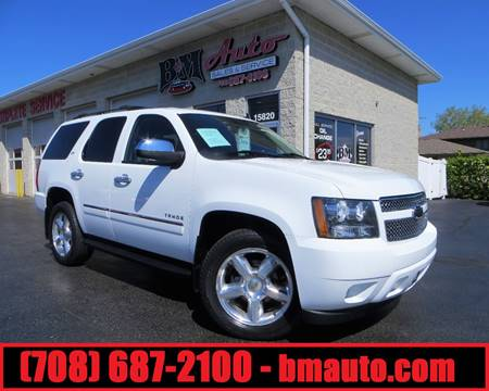 2011 Chevrolet Tahoe for sale at B & M Auto Sales Inc. in Oak Forest IL
