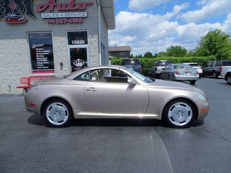 2002 Lexus SC 430 for sale at B & M Auto Sales Inc. in Oak Forest IL