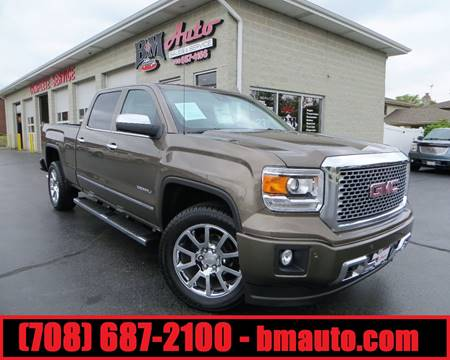 2015 GMC Sierra 1500 for sale at B & M Auto Sales Inc. in Oak Forest IL