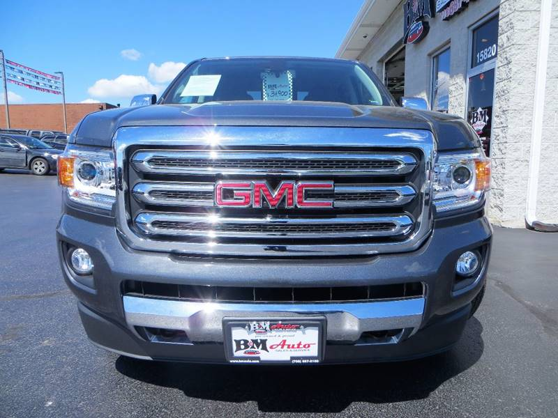 2016 GMC Canyon for sale at B & M Auto Sales Inc. in Oak Forest IL