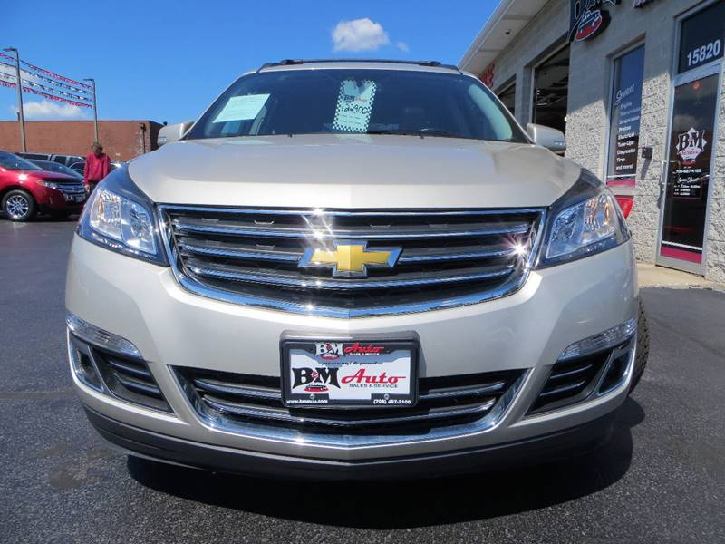 2013 Chevrolet Traverse for sale at B & M Auto Sales Inc. in Oak Forest IL