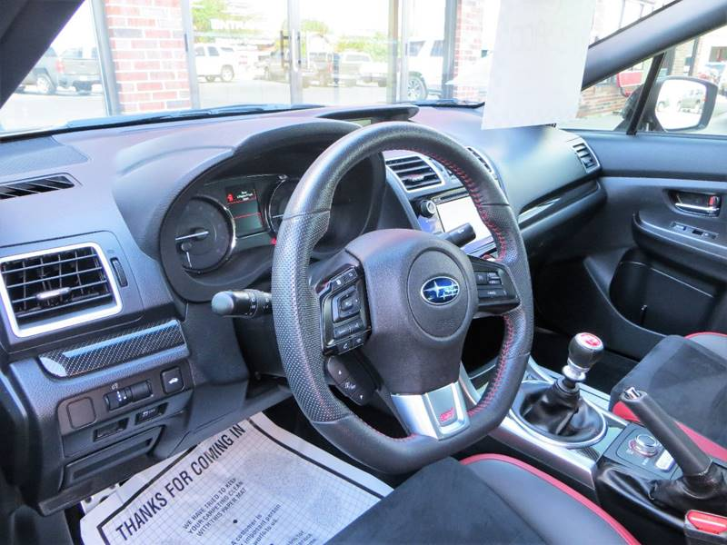 2016 Subaru WRX for sale at B & M Auto Sales Inc. in Oak Forest IL