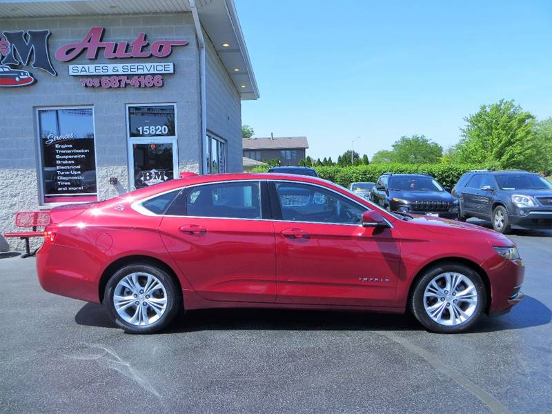 2015 Chevrolet Impala for sale at B & M Auto Sales Inc. in Oak Forest IL