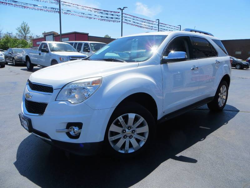 2010 Chevrolet Equinox for sale at B & M Auto Sales Inc. in Oak Forest IL