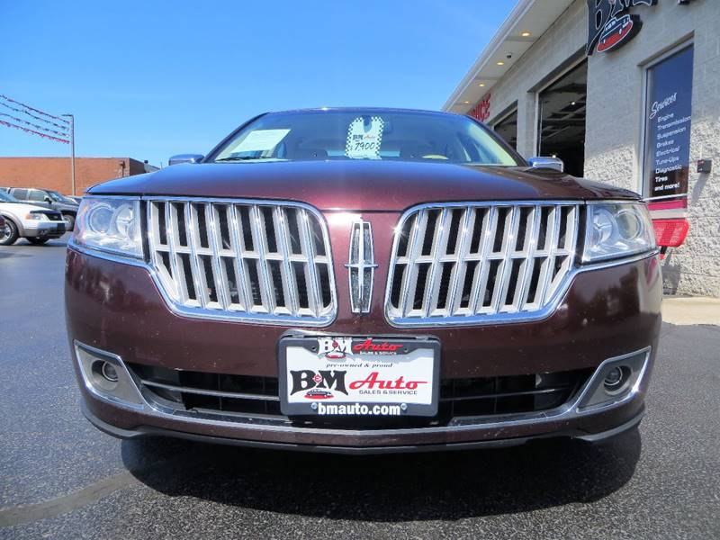 2012 Lincoln MKZ Hybrid for sale at B & M Auto Sales Inc. in Oak Forest IL