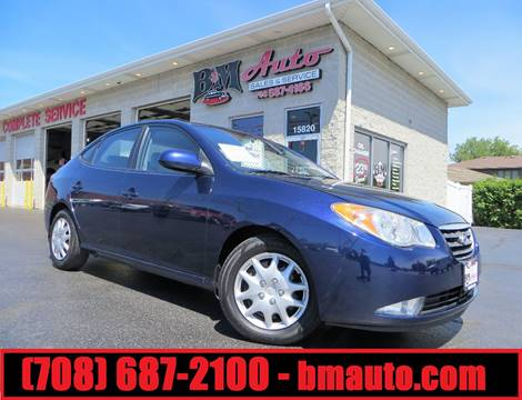 2008 Hyundai Elantra for sale at B & M Auto Sales Inc. in Oak Forest IL