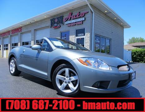 2009 Mitsubishi Eclipse Spyder for sale at B & M Auto Sales Inc. in Oak Forest IL