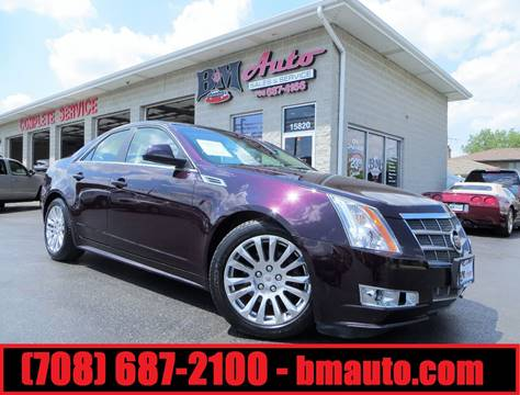 2010 Cadillac CTS for sale at B & M Auto Sales Inc. in Oak Forest IL