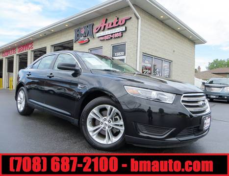 2015 Ford Taurus for sale at B & M Auto Sales Inc. in Oak Forest IL