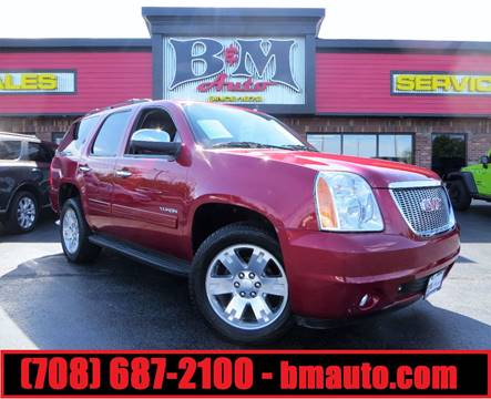 2012 GMC Yukon for sale at B & M Auto Sales Inc. in Oak Forest IL