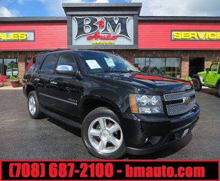 2009 Chevrolet Tahoe for sale at B & M Auto Sales Inc. in Oak Forest IL