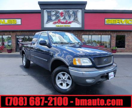2003 Ford F-150 for sale at B & M Auto Sales Inc. in Oak Forest IL