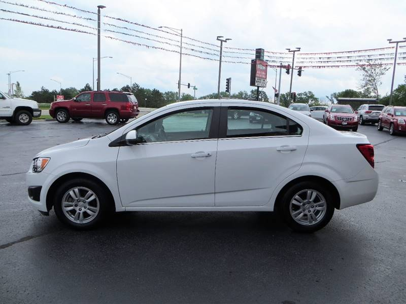 2014 Chevrolet Sonic for sale at B & M Auto Sales Inc. in Oak Forest IL