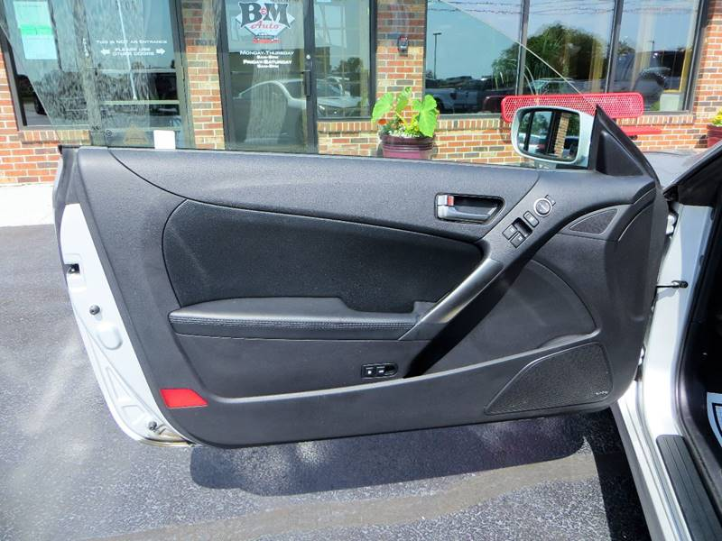2013 Hyundai Genesis Coupe for sale at B & M Auto Sales Inc. in Oak Forest IL