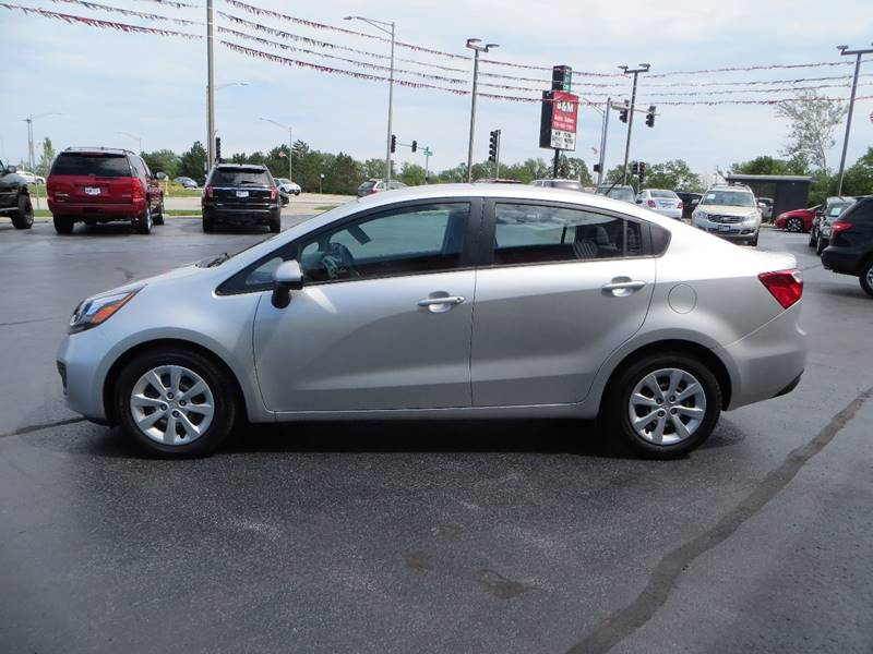 2014 Kia Rio for sale at B & M Auto Sales Inc. in Oak Forest IL