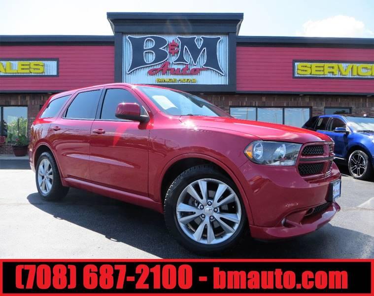 2011 Dodge Durango for sale at B & M Auto Sales Inc. in Oak Forest IL