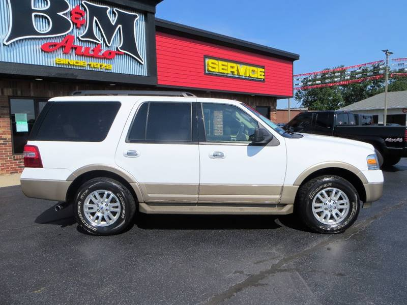2012 Ford Expedition for sale at B & M Auto Sales Inc. in Oak Forest IL