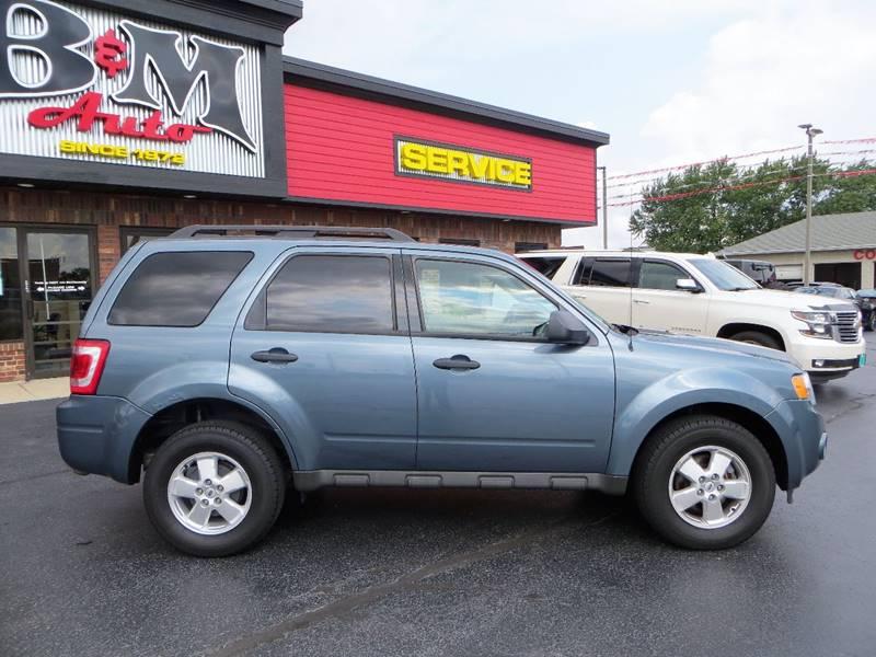 2011 Ford Escape for sale at B & M Auto Sales Inc. in Oak Forest IL