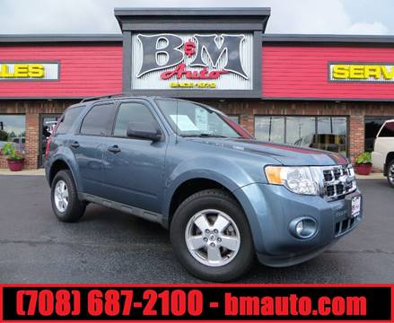 2011 Ford Escape for sale at B & M Auto Sales Inc. in Oak Forest IL