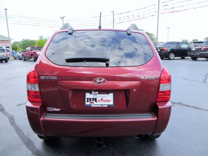 2008 Hyundai Tucson for sale at B & M Auto Sales Inc. in Oak Forest IL