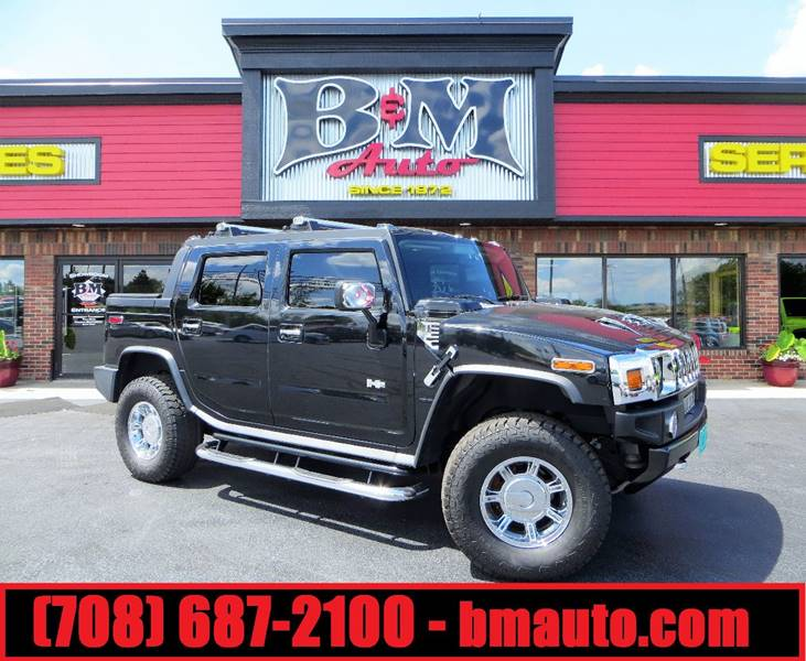 2005 HUMMER H2 SUT for sale at B & M Auto Sales Inc. in Oak Forest IL