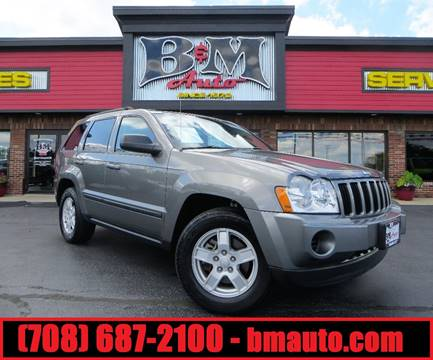 2007 Jeep Grand Cherokee for sale at B & M Auto Sales Inc. in Oak Forest IL