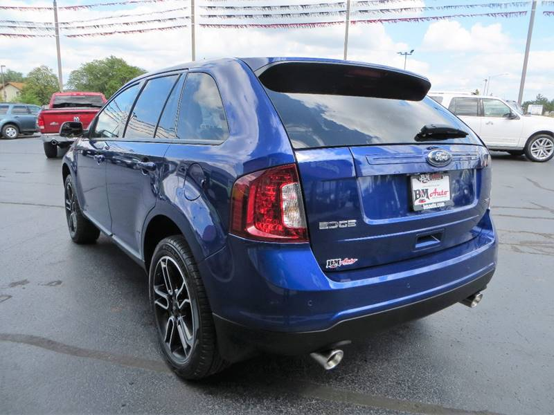 2014 Ford Edge for sale at B & M Auto Sales Inc. in Oak Forest IL