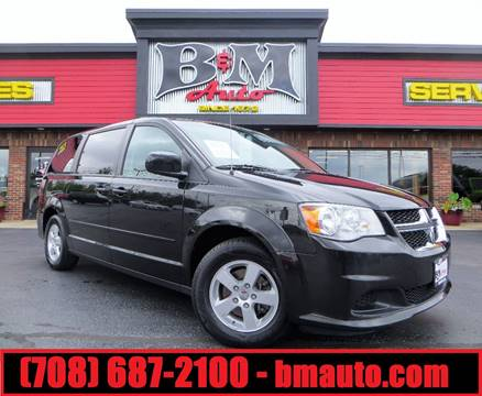 2012 Dodge Grand Caravan for sale at B & M Auto Sales Inc. in Oak Forest IL