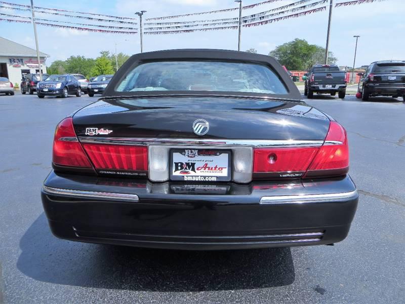 2000 Mercury Grand Marquis for sale at B & M Auto Sales Inc. in Oak Forest IL