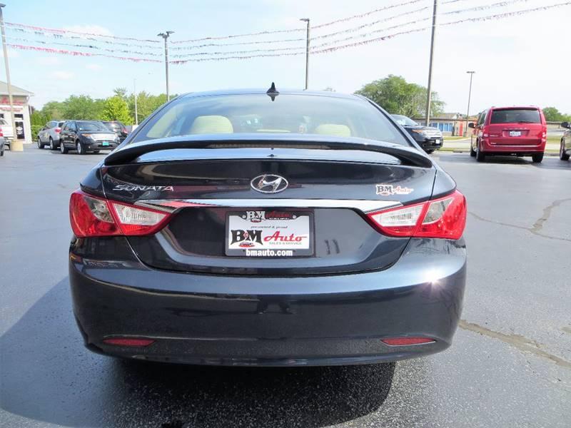 2012 Hyundai Sonata for sale at B & M Auto Sales Inc. in Oak Forest IL