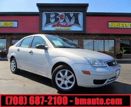 2005 Ford Focus for sale at B & M Auto Sales Inc. in Oak Forest IL