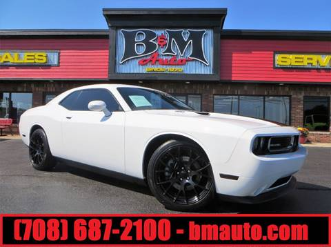 2013 Dodge Challenger for sale at B & M Auto Sales Inc. in Oak Forest IL