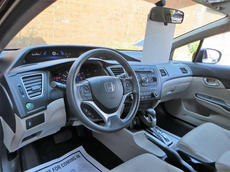2014 Honda Civic for sale at B & M Auto Sales Inc. in Oak Forest IL