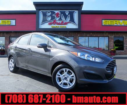 2015 Ford Fiesta for sale at B & M Auto Sales Inc. in Oak Forest IL