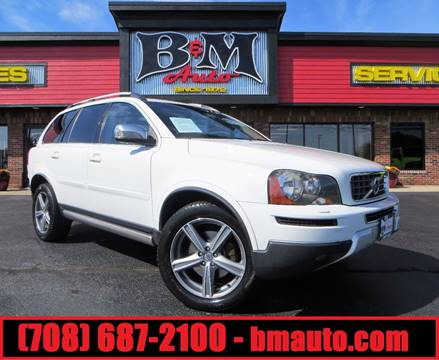 2010 Volvo XC90 for sale at B & M Auto Sales Inc. in Oak Forest IL