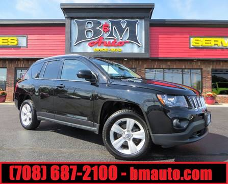 2014 Jeep Compass for sale at B & M Auto Sales Inc. in Oak Forest IL