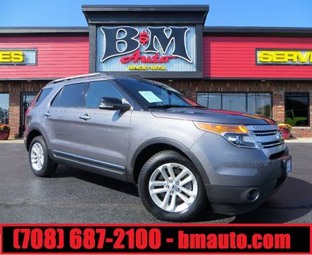 2013 Ford Explorer for sale at B & M Auto Sales Inc. in Oak Forest IL