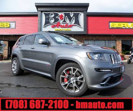 2012 Jeep Grand Cherokee for sale at B & M Auto Sales Inc. in Oak Forest IL
