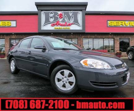 2008 Chevrolet Impala for sale at B & M Auto Sales Inc. in Oak Forest IL